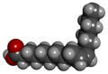 Cis-10-Heptadecenoic acid - 3D - Space-filling Model.png