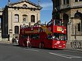 City Sightseeing bus in Oxford, England 15 - Broad Street.jpg