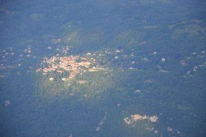 Civenna - Civenna seen from Cima di Monte Cucco.