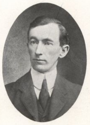 Clarence A. Short - Short pictured in The Blue Hen 1906, Delaware yearbook