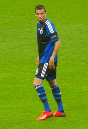Claudemir de Souza - Claudemir playing for Copenhagen
