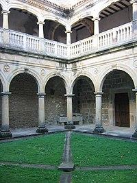 Claustro de la Colegiata de Santa María de Zenarruza
