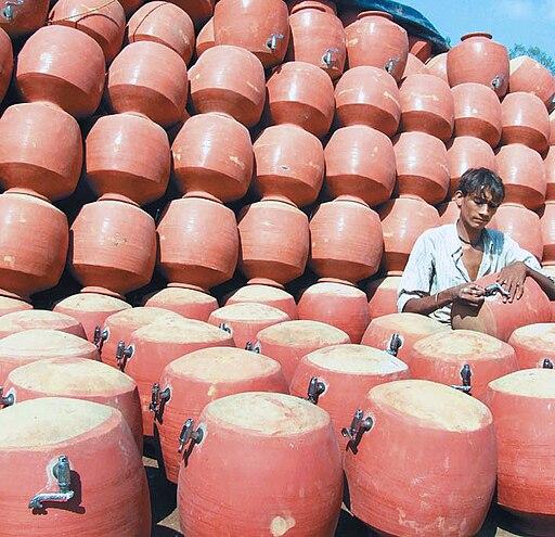 Clay pot India Tamil word 7