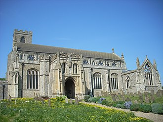 St Margaret's, Cley - Image: Cley next the Sea church St Margaret