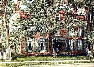 Clinton House (Poughkeepsie, New York) - Image: Clinton House Poughkeepsie c 1906