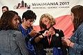 Closing ceremony Wikimania 2017 IMG 5584.JPG