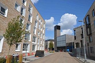 North West Cambridge development - Image: Cmglee Eddington power station