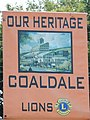 Coaldale Welcome Sign, Schuylkill County PA.JPG