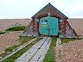 Coastguard hut, Chesil Beach - geograph.org.uk - 1286394.jpg