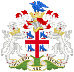 Coat of arms of the College of Arms