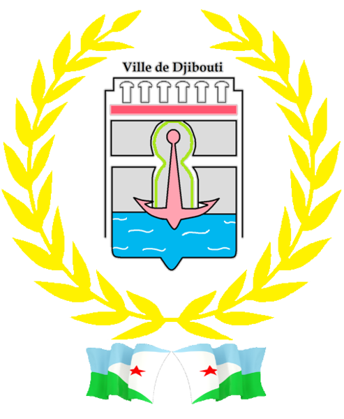 Ficheiro:Coat of arms Djibouti City.png