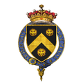 Coat of arms of Sir Thomas Wentworth, 1st Earl of Strafford, KG.png
