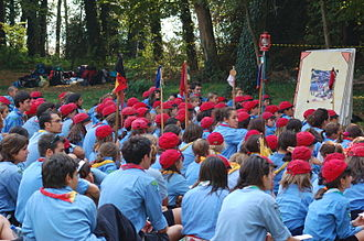 Brownies - ''Associazione Guide e Scouts Cattolici Italiani'' Coccinelle at Lombardy Regional Meeting