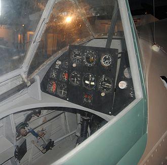 IAR 80 - IAR 80 incomplete cockpit