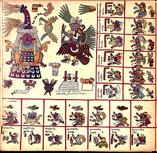 Codex Borbonicus Aztec codex