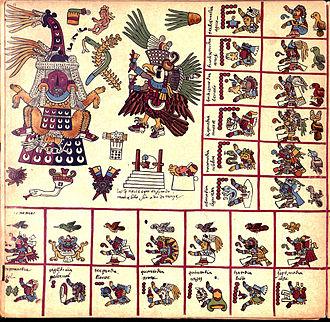 Tlazōlteōtl - Image: Codex Borbonicus (p. 13)