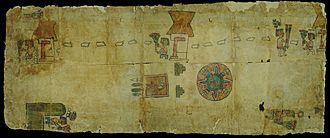 Huamantla - Portion of the Huamantla Codex