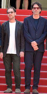 Bröderna Ethan og Joel Coen ved filmfestivalen i Cannes' 2015.