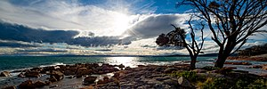 Protected areas of Tasmania - Image: Coles Bay Conservation Area TAS