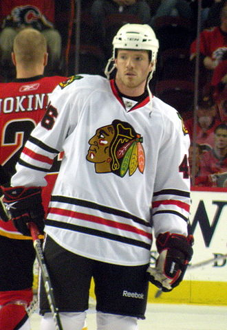 Colin Fraser (ice hockey) - Fraser with the Chicago Blackhawks in 2010.