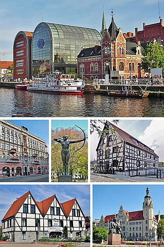 Bydgoszcz - Image: Collage of views of Bydgoszcz, Poland 3