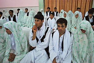 Collective wedding - Collective wedding in Afghanistan