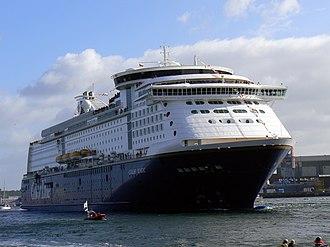 Color Line (ferry operator) - Image: Color Magic Ankunft 2 Kiel 2007