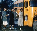 Color film strip depicting various photos of scenes and statistics from c.1949-1950's Duplin County Schools, PhC.188. From Photograph Collections, State Archives of North Carolina, Raleigh, NC. (9017953884).jpg