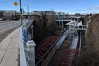 Commercial–Broadway station Metro Vancouver SkyTrain interchange station