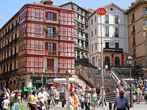 Conjunto Historico Artistico el Casco viejo Bilbao