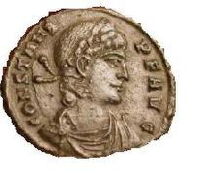 Constans coin, From WikimediaPhotos