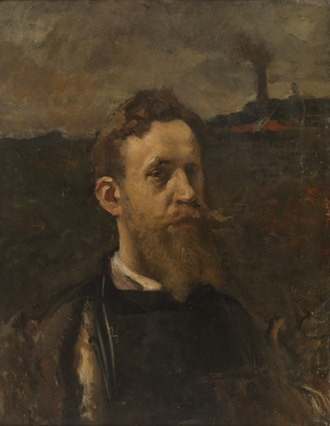 Constantin Meunier - Self-portrait, 1885