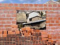 Construction Site at Cha'llapampa - Near Copacabana - Bolivia (3776989382).jpg