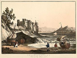 Conway Castle, north Wales