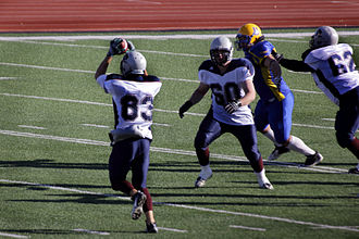 Regina Thunder - 83 Clay Cooke superb reception fourth quarter Oct 21, 2012