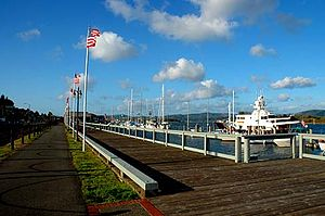 Coos Bay, Oregon - Coos Bay Waterfront