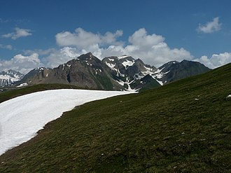 Grieshorn - Corno Gries (centre)