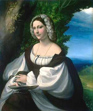 Nikolay Yusupov - Image: Correggio, Ritratto di dama, c.1517 1518