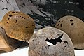 Corroded helmets World War II.jpg