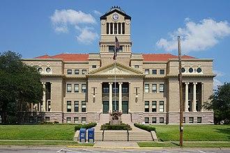 Navarro County, Texas - Image: Corsicana September 2017 04 (Navarro County Courthouse)