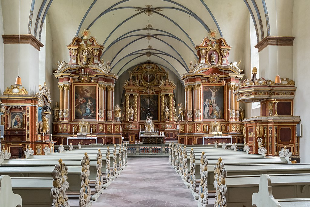 Corvey - 2017-09-23 - Abteikirche, innen (01)
