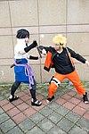 Cosplayers of Sasuke Uchiha and Naruto Uzumaki at CWT39 20150228b.jpg
