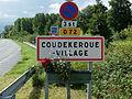 Coudekerque-Village - Panneau d'entrée.JPG