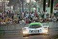 Courage C32LM - Alain Ferte, Henri Pesacrolo & Franck Lagorce exits Esses at the 1994 Le Mans (31970309125).jpg