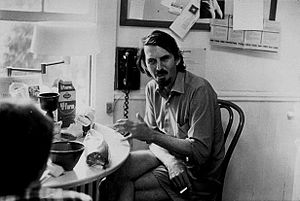 1972 in poetry - Poet Robert Creeley in 1972