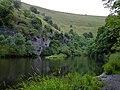 Cressbrook - Water-cum-Jolly Dale millpond - geograph.org.uk - 629322.jpg