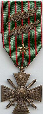 Croix de Guerre 1914 1918