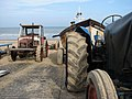 Cromer, tractors and crab boat - geograph.org.uk - 1757946.jpg