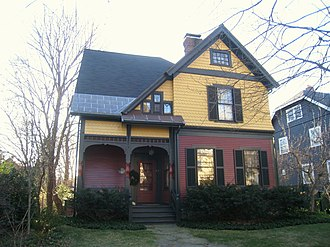 Cushman House (Arlington, Massachusetts) - Image: Cushman House, Arlington MA IMG 2814