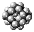Cyclotetradecane molecule spacefill.png